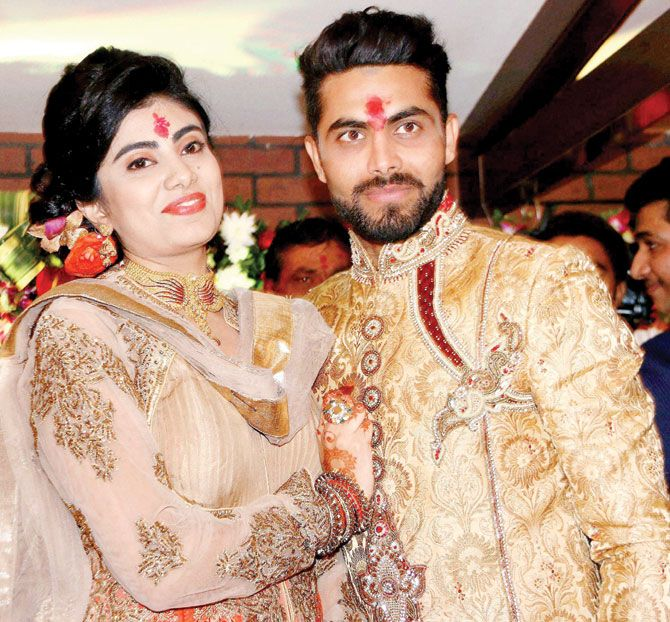 Ravindra Jadeja And His Wife Blessed With Baby Daughter
