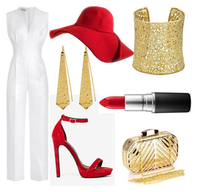 """Elegant style"" by marialuisalopez-1 on Polyvore featuring Emilia Wickstead, Jeffrey Campbell, Chicnova Fashion, Panacea, Ettika and MAC Cosmetics"