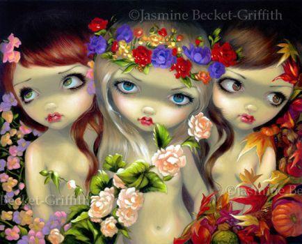 The Three Graces by jasminetoad