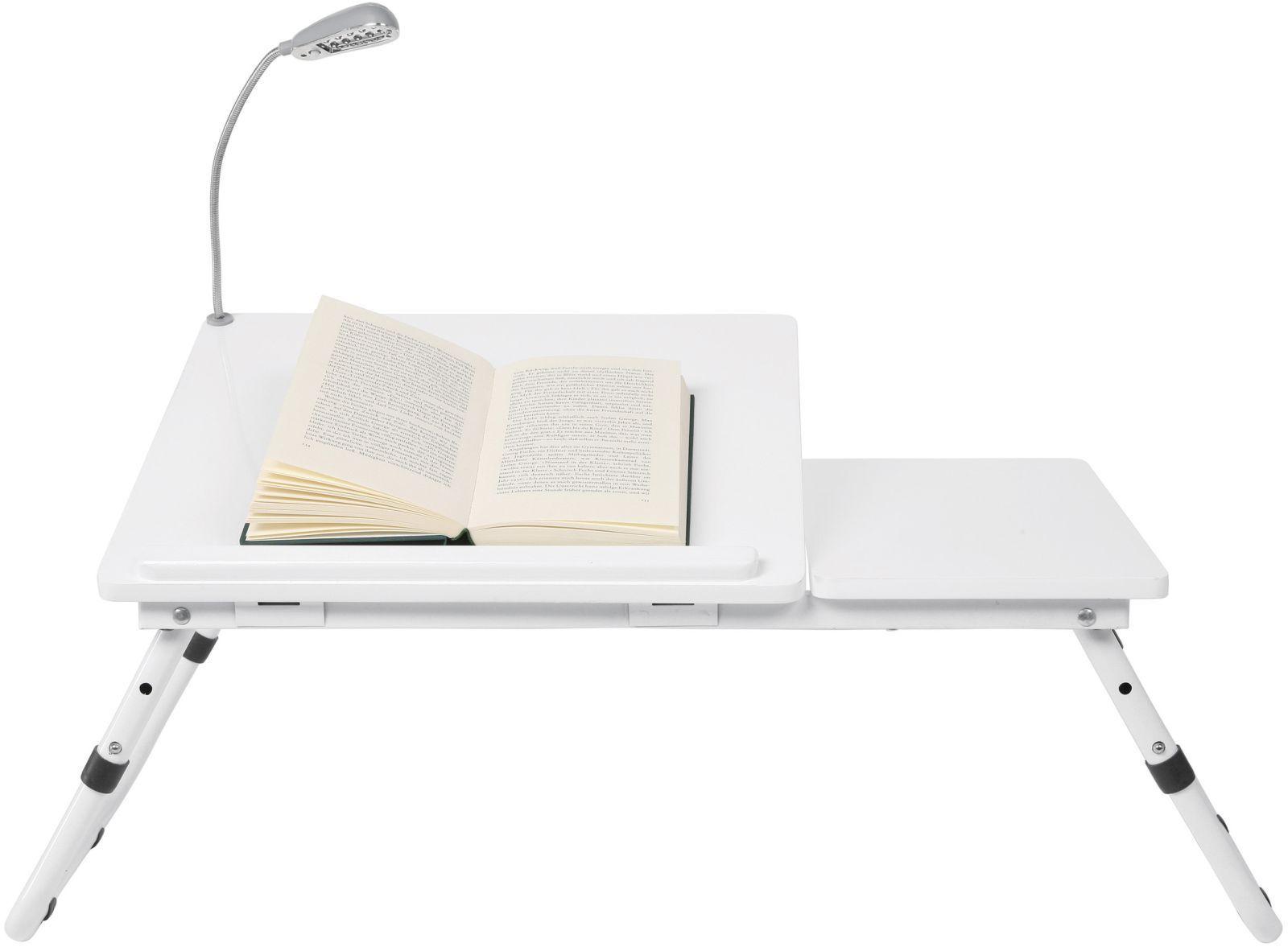 Laptop Tafel Bank : Bedtafel bookworm wit is een handige tafel voor op bed of op de
