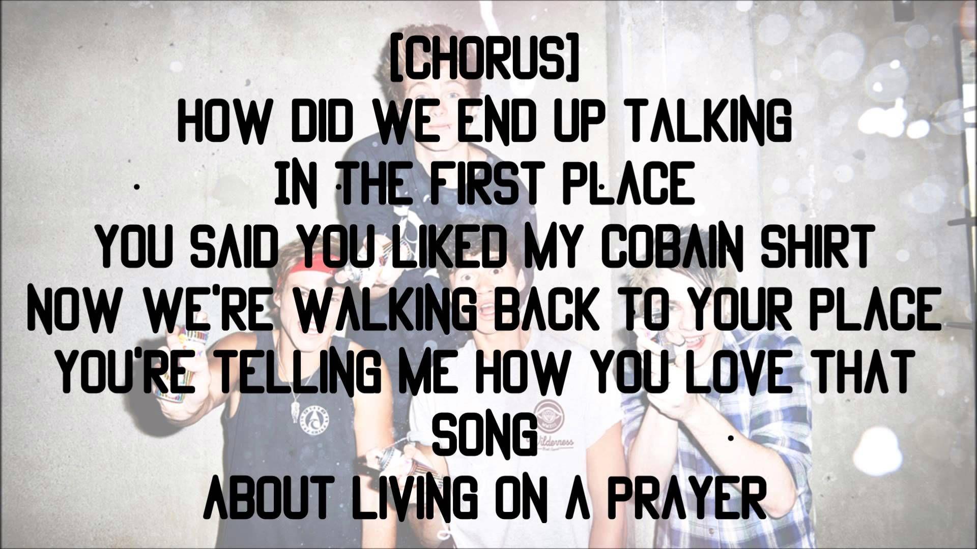 5sos End Up Here Lyrics Here Lyrics 5sos Lyrics 5sos Songs