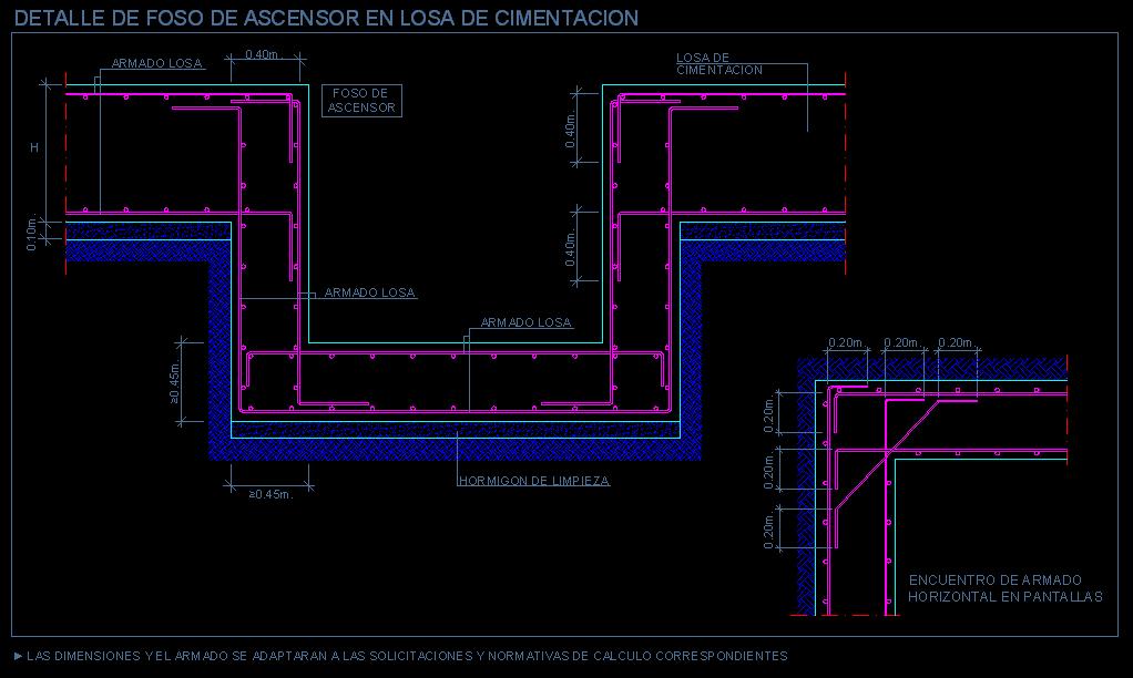 Losa maciza detalles for Planos de escaleras de concreto armado