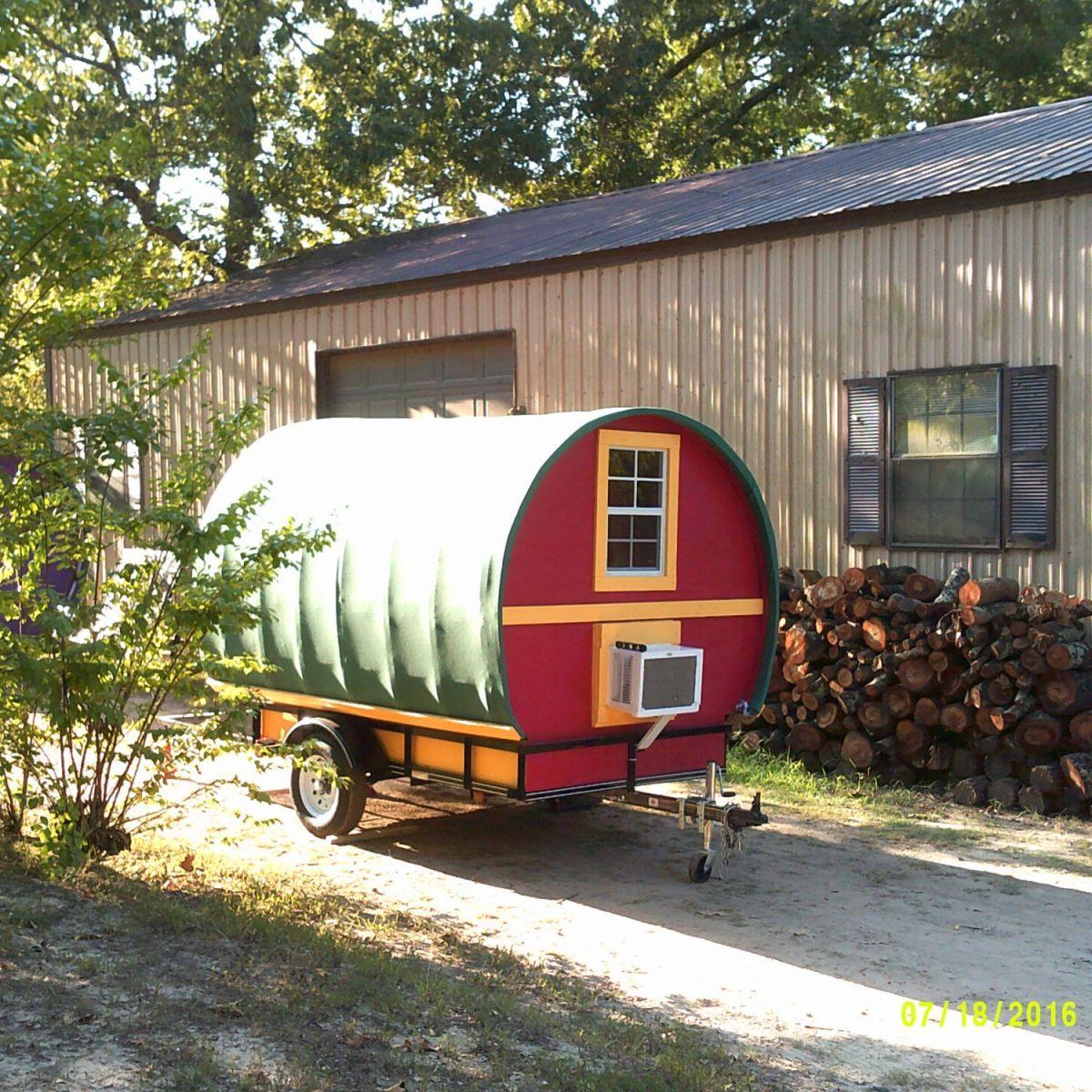 Custom Gypsy Wagon Vardo Tiny House On Wheels Camper For