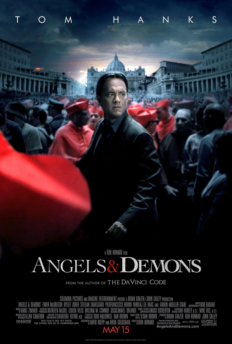 Angels Demons Movie Poster 2009 Filme Anjos E Demonios