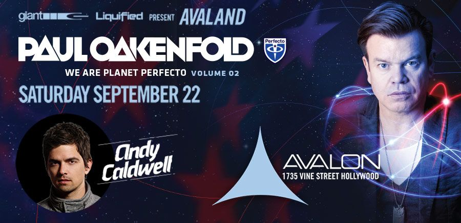 Paul Oakenfold at Avalon 9-22-12