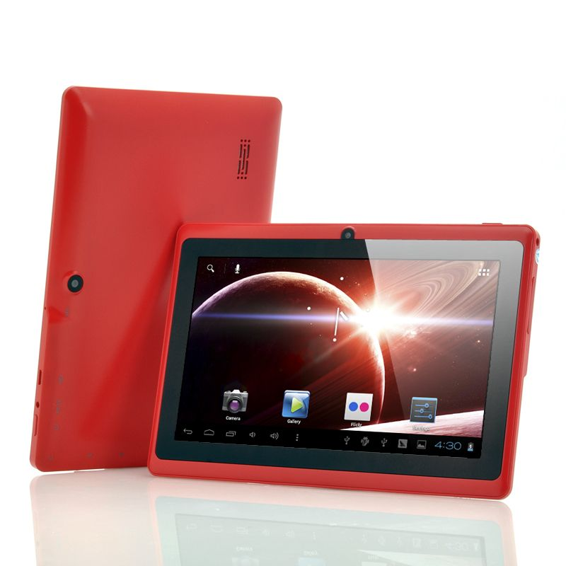 Lavos - Budget 7 Inch Android Tablet PC (1GHz CPU, 512MB RAM, 4GB, Red)