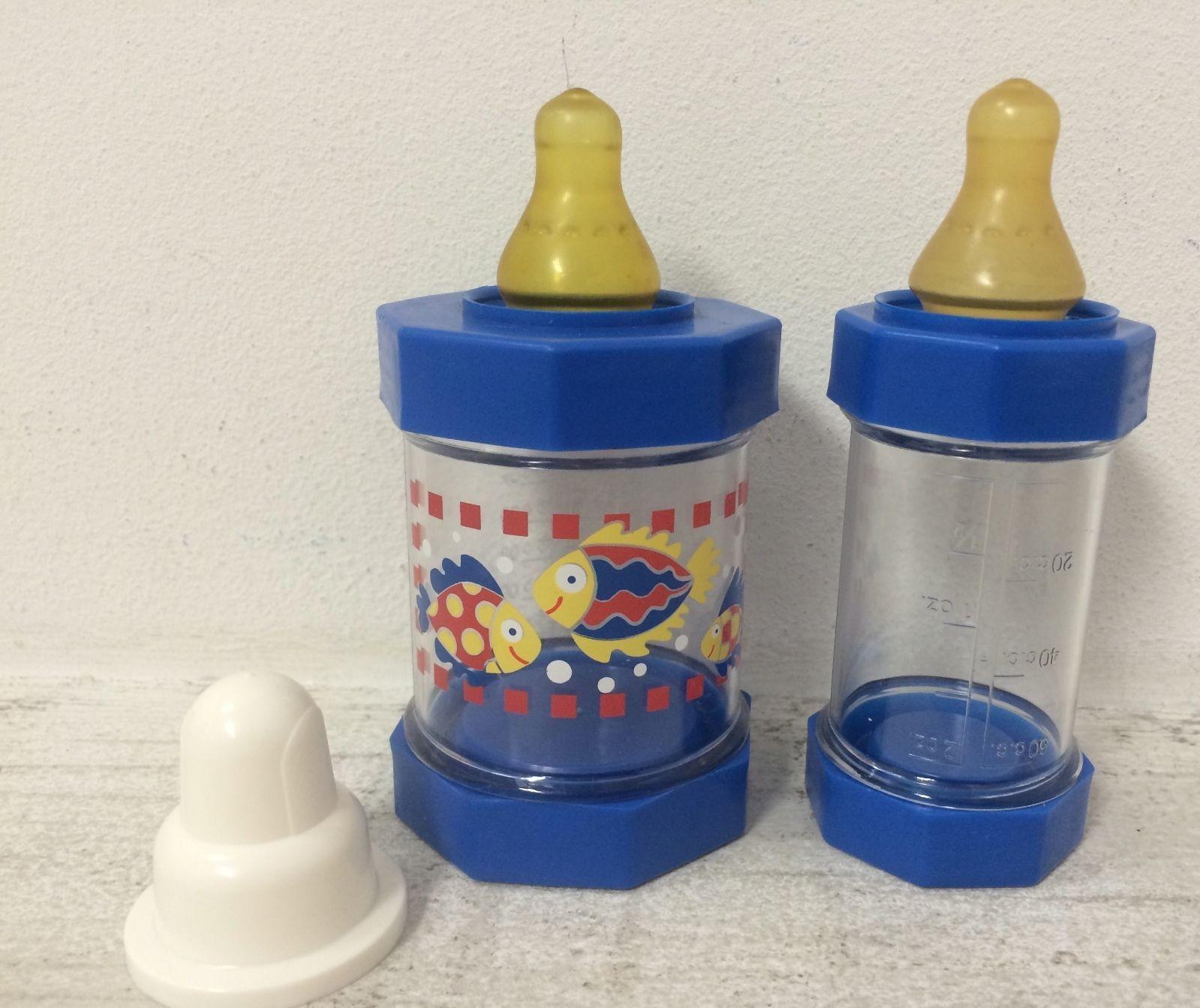 Vintage Sassy Baby Bottles Infant Feeders Cereal Formula