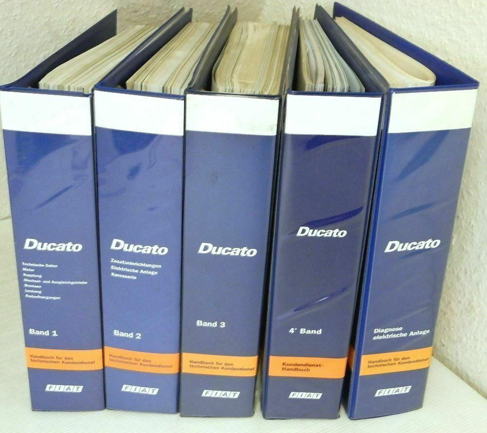 Werkstatthandbuch Fiat Ducato 230 Reparaturanleitung Ab 1994 2001 In 5 Banden Bucher Autos Und Motorrader Reparatur