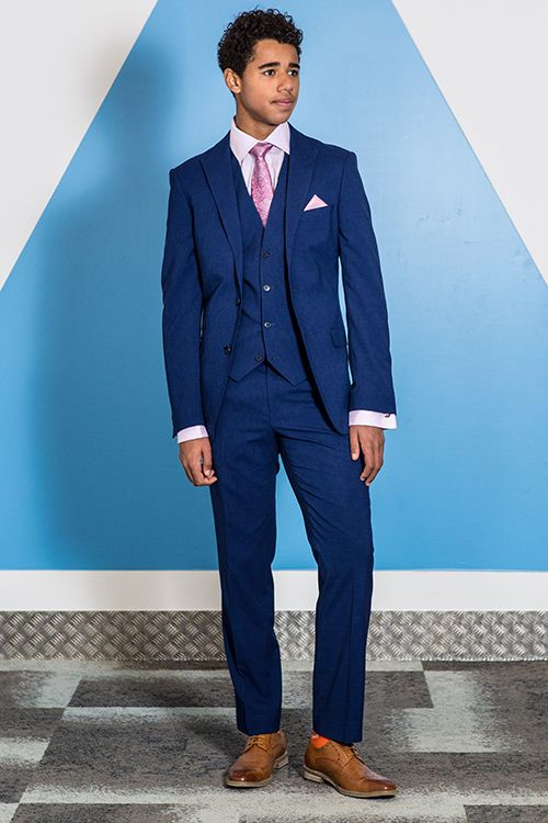 Stand out from the crowd in one of our slim fit prom suits. When it ...