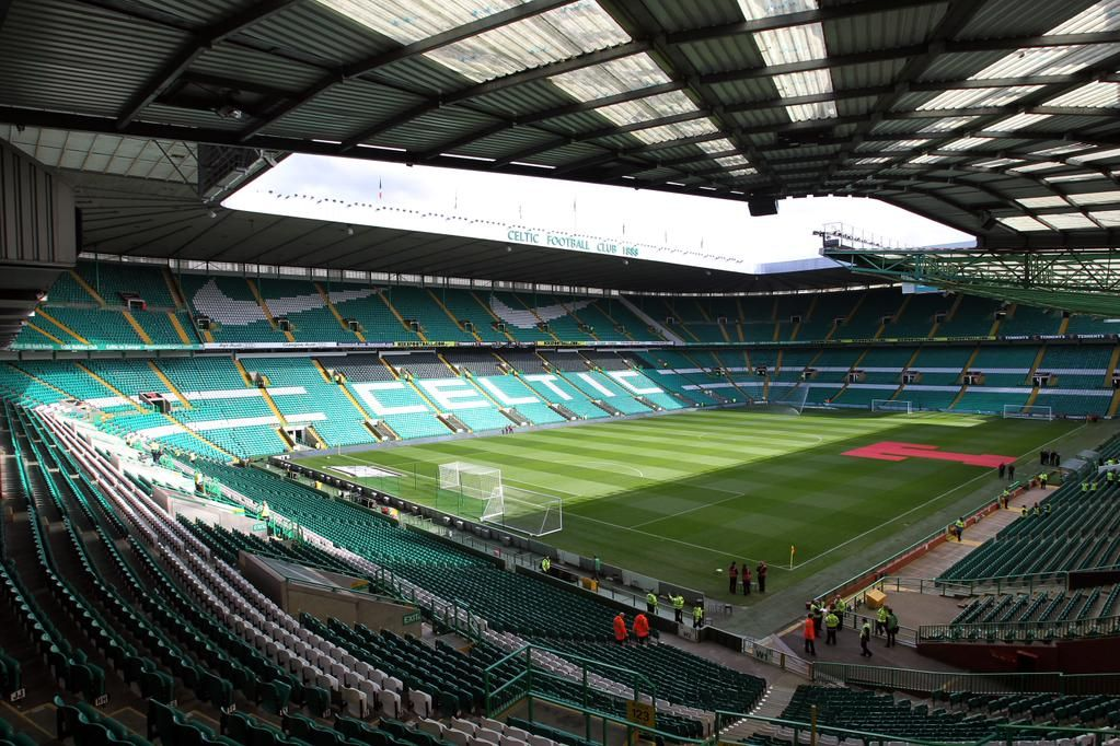 Celtic Park Is The Home Ground Of Football Club In Parkhead Area Glasgow An All Seater Stadium With A Capacity 60355