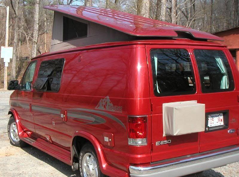 Rv Net Open Roads Forum Coach Air Conditioning In Pleasure Way Traverse Minivan Camper Conversion Pleasure Way Pickup Camper