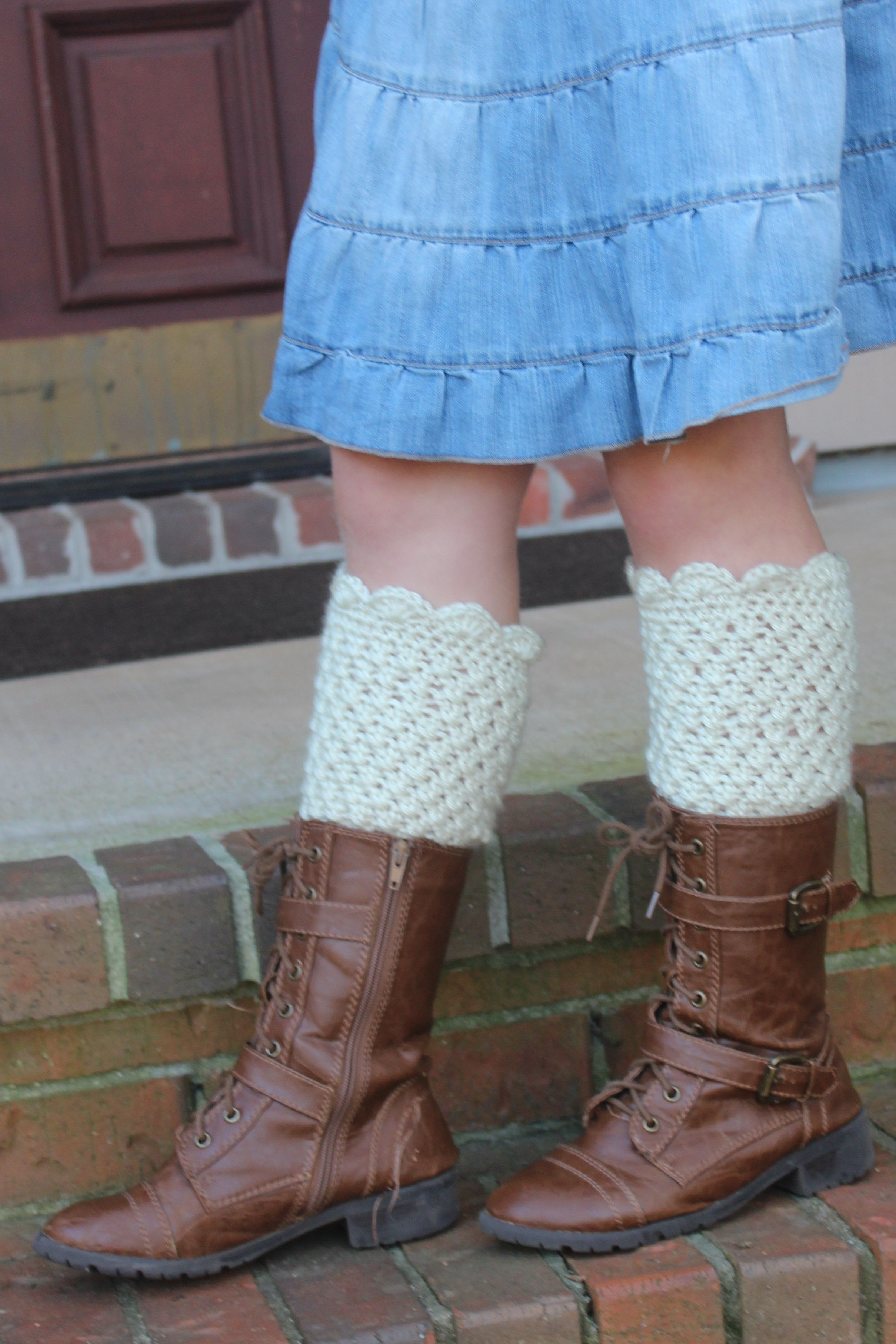 Crochet Pattern - Scarlett Leg Warmers for Toddlers thru Adults ...