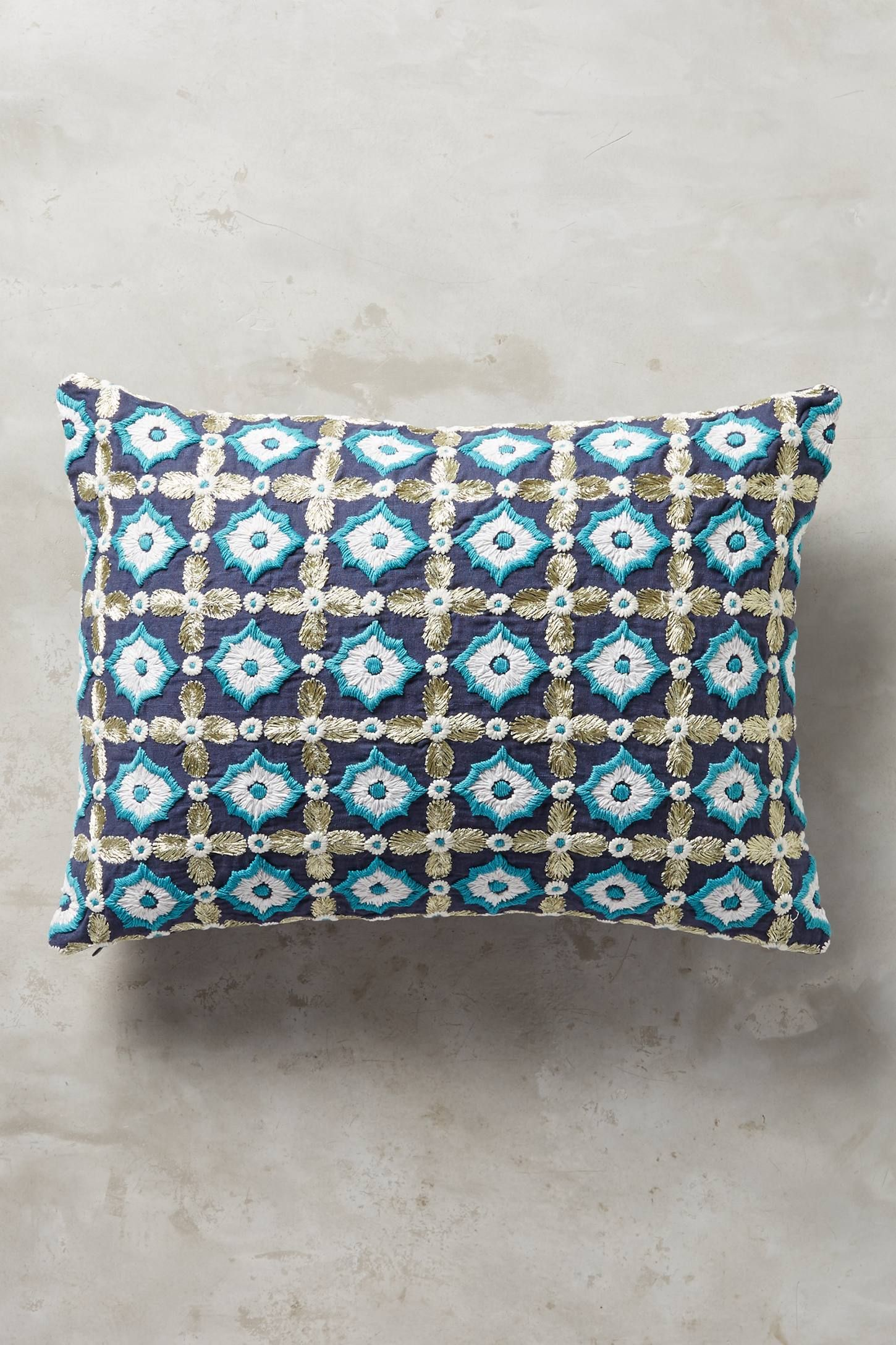 Shop the Tile-Embroidered Pillow and more Anthropologie at Anthropologie today. Read customer reviews, discover product details and more.