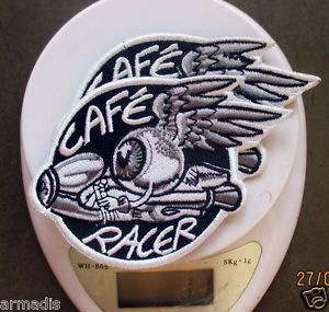 2X CAFE RACER PATCH PARTS KIT JACKET 59 CLUB ROCKET ROCKER BIKER
