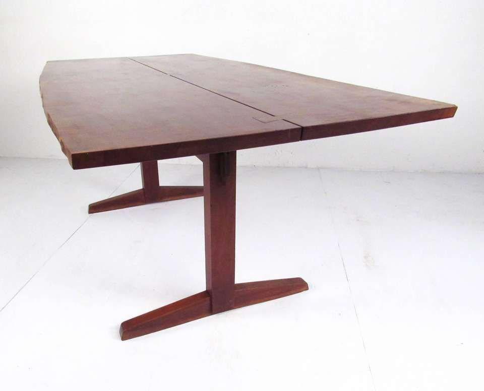 For Sale On 1stdibs This Vintage Walnut Dining Table By George