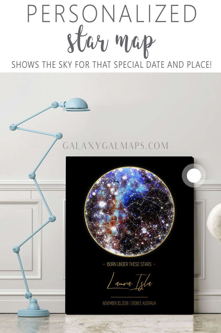 Get Personal Star Map 10th Anniversary Gift For New Mom Dad Kentucky Wall Art Aries Zo In 2020 Star Map Personalized Friendship Gifts Boyfriend Anniversary Gifts