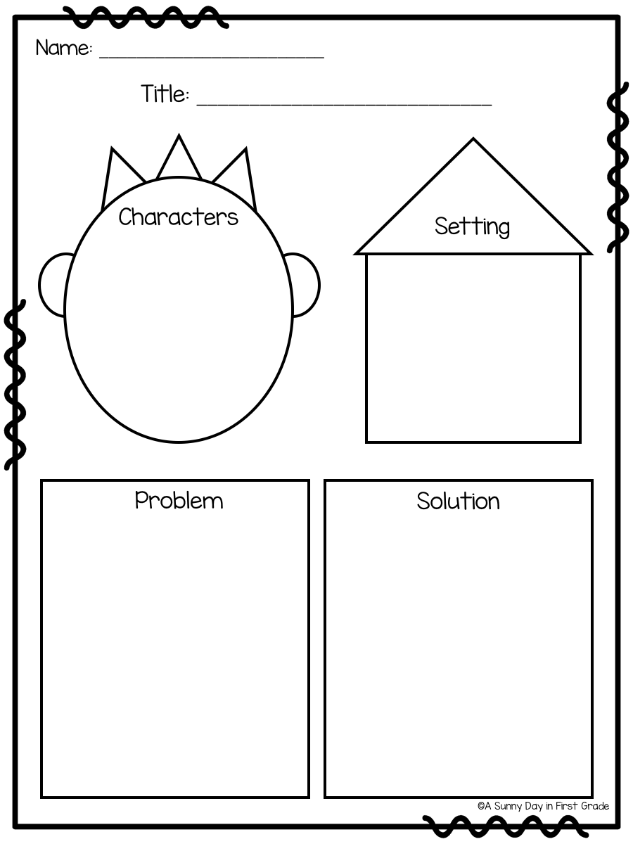 A Sunny Day in First Grade: Workshop Wednesday: Response to Literature   First  grade lessons [ 1200 x 900 Pixel ]