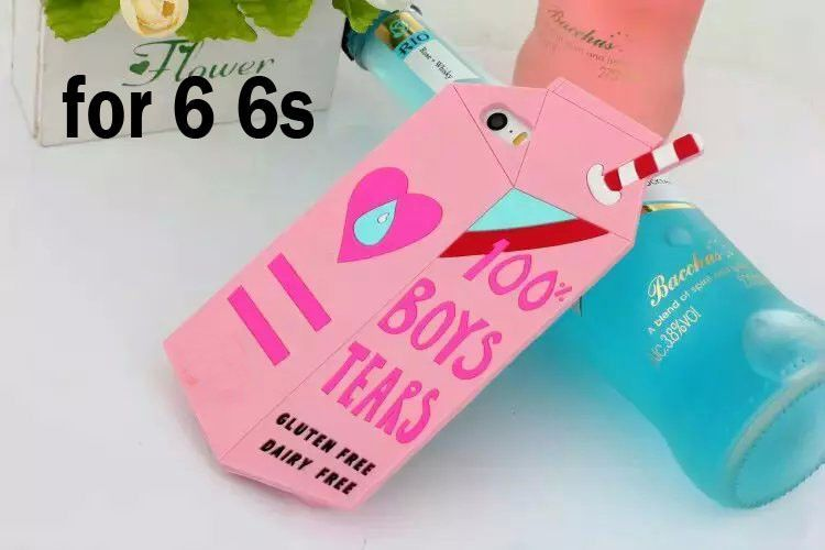 Fashion Colourful Milk Box Design model silicon soft Back Case Cover For iphone 5 5S 5G Mobile Phone shell ASJK0048