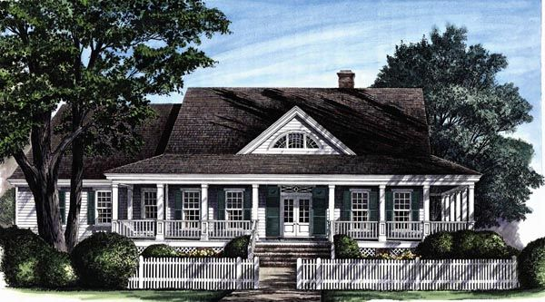 colonial cottage country craftsman farmhouse southern traditional