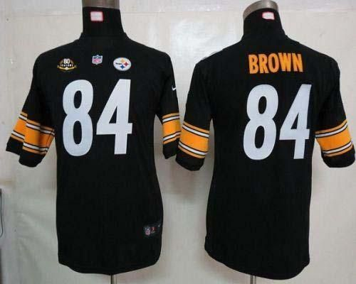 ... Nike Steelers 92 James Harrison White With 80TH Patch Youth Embroidered  NFL Elite Jersey Emillia Kelly ... e42b7a17c