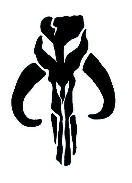 Mandalorian Symbol Mandalorian Pinterest Mandalorian Star And