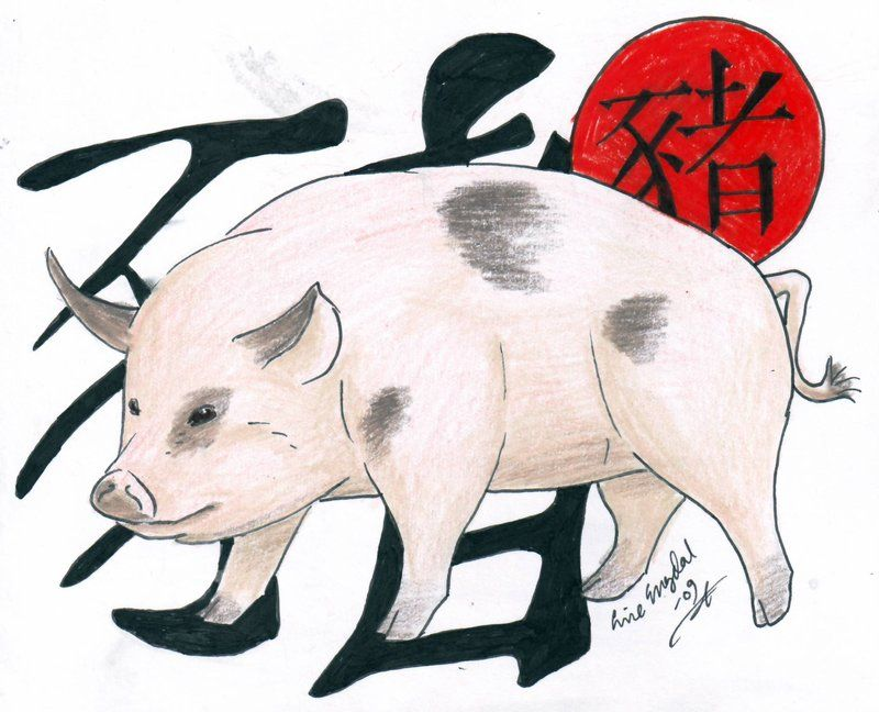 Chinese Horoscope Pig By Larvoncl  All Things Astrology