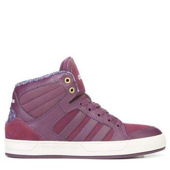 adidas Neo Raleigh High Top Sneaker Merlot/Pearlgrey