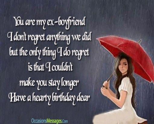 Birthday Wishes For Ex Boyfriend Trennung Birthday Wishes Wish