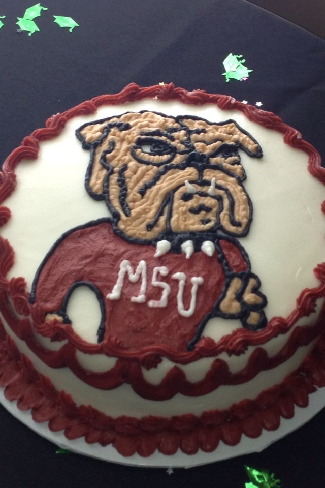 Mississippi State Cake Mississippi State Cake Pinterest