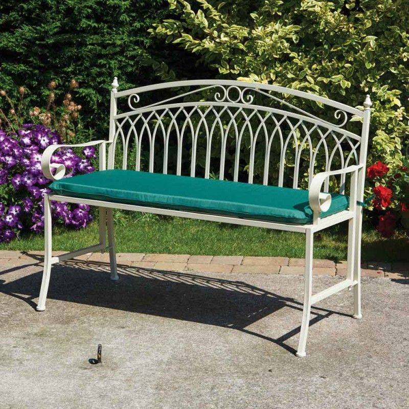 Folding Garden Bench With Optional Seat Cushion. Greenhurst Versailles  Range Of Garden Furniture | Garden Furniture | Pinterest | Bench,  Versailles And ...