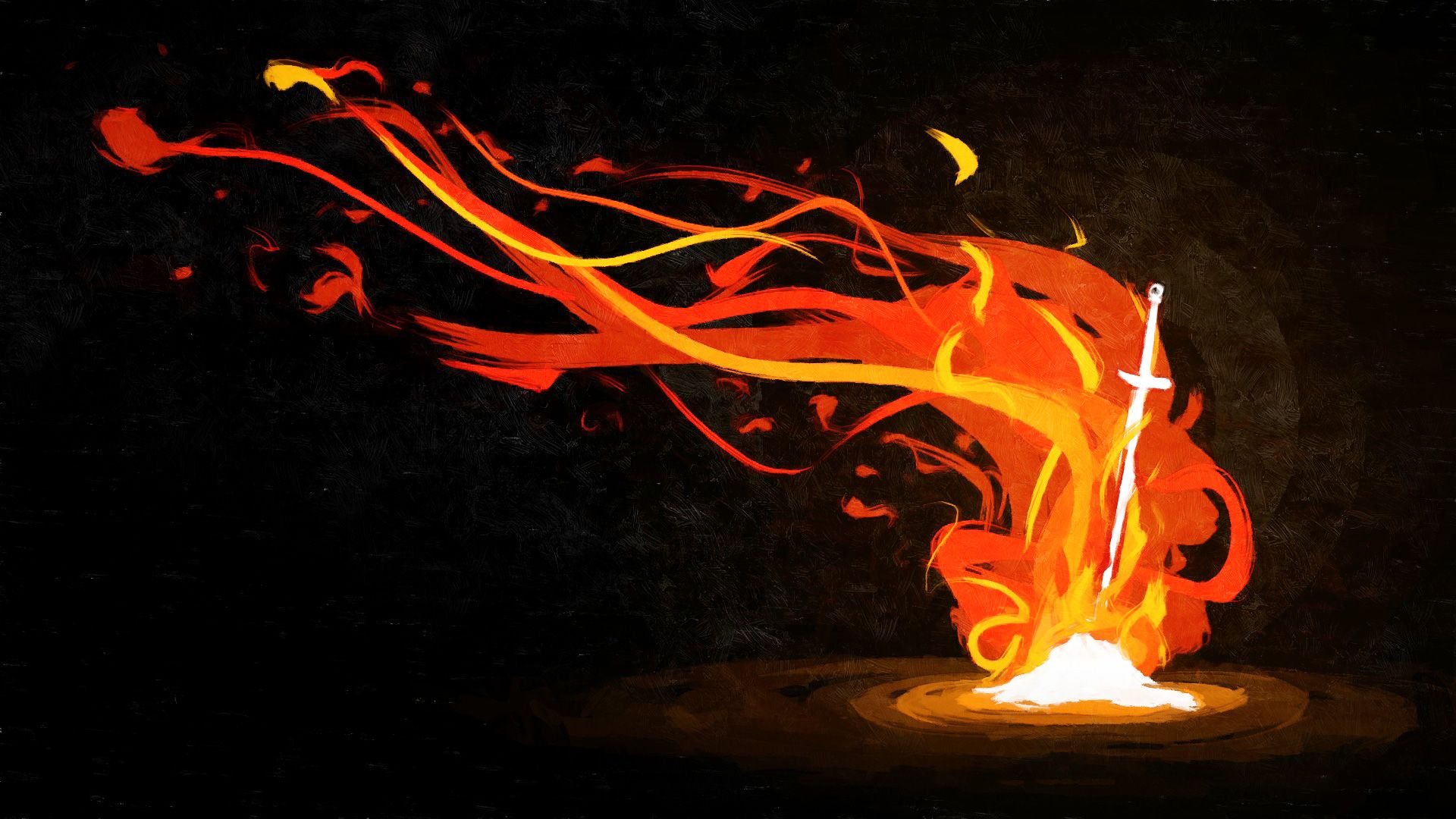 Dark Souls Bonfire Wallpaper Dark Souls Wallpaper Dark Souls Tattoo