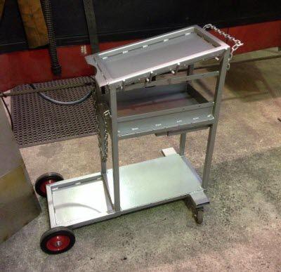Mig Welding Cart Welding Welding Projects Diy Welding