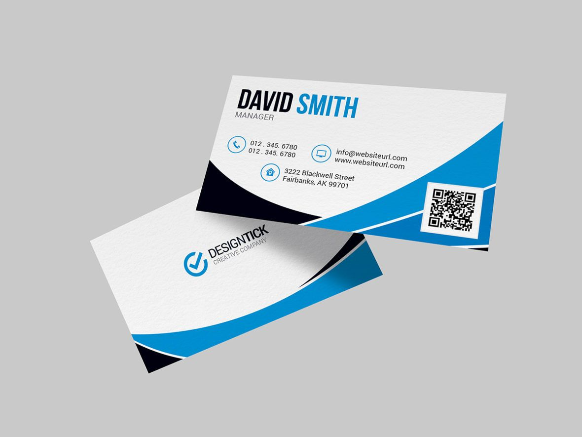 Modern Business Card Template 123 Graphic Pick Modern Business Cards Business Card Fonts Minimal Business Card