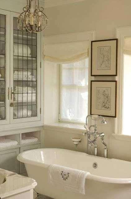 Idee per arredare il bagno in stile country - Arredamento bagno in ...