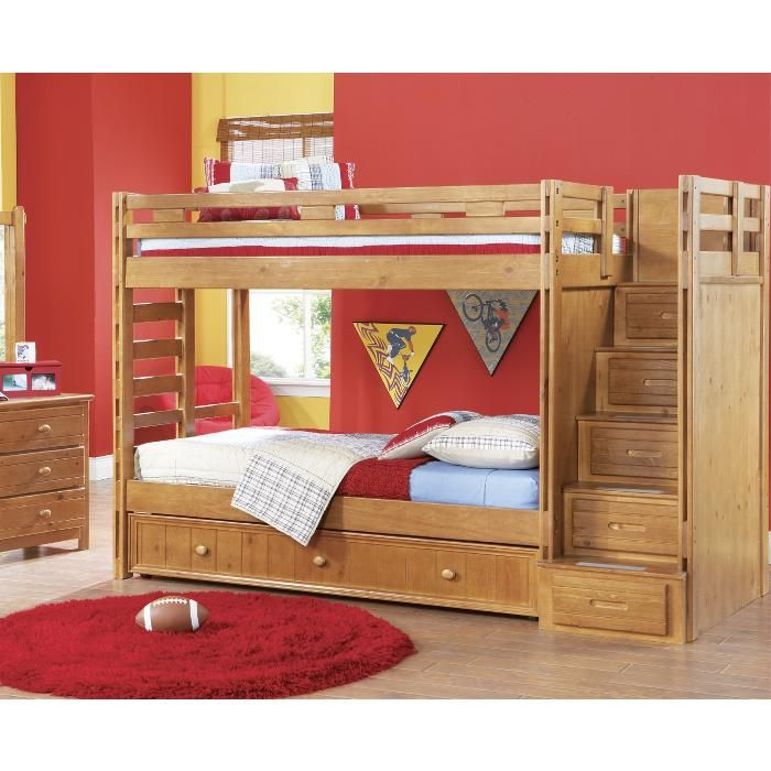 Storage Stairs for the Playhouse Loft Bed, how to build it ...