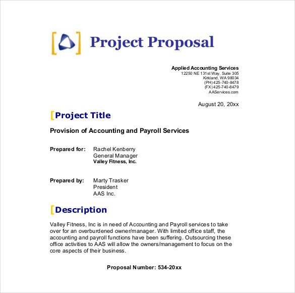 sample business proposals