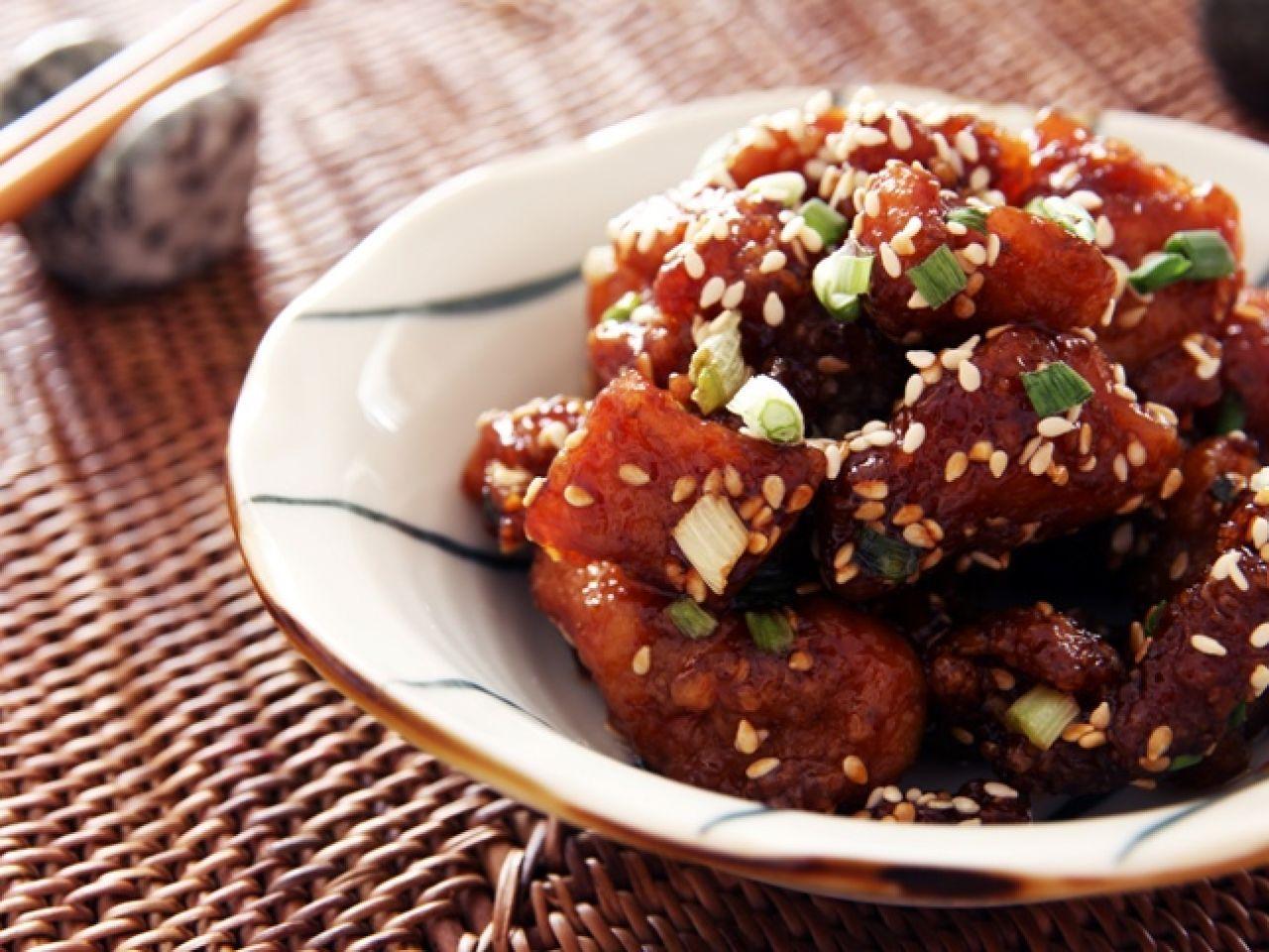 Sesame chicken | Daydaycook | Pinterest
