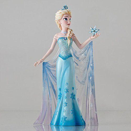 Official Disney Showcase Collection Elsa From Frozen Figurine By Disney Amazon De Kuche Haushalt Elza Princessy Disnej