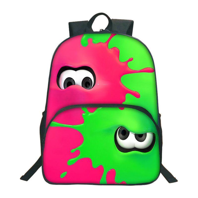 Anime Gudetama Backpack USB Charge Headphone jack school bag laptop Backpack
