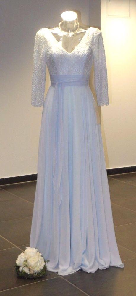 Details zu Edel Abendkleid Brautkleid Ausstellungsstück Ronald Joyce ...