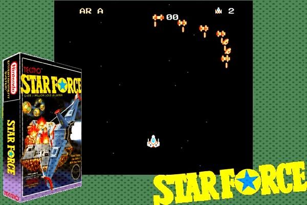 Star Force (USA)   Nintendo NES Classic Game  Star Force (USA)  Just another Nintendo NES Classic G