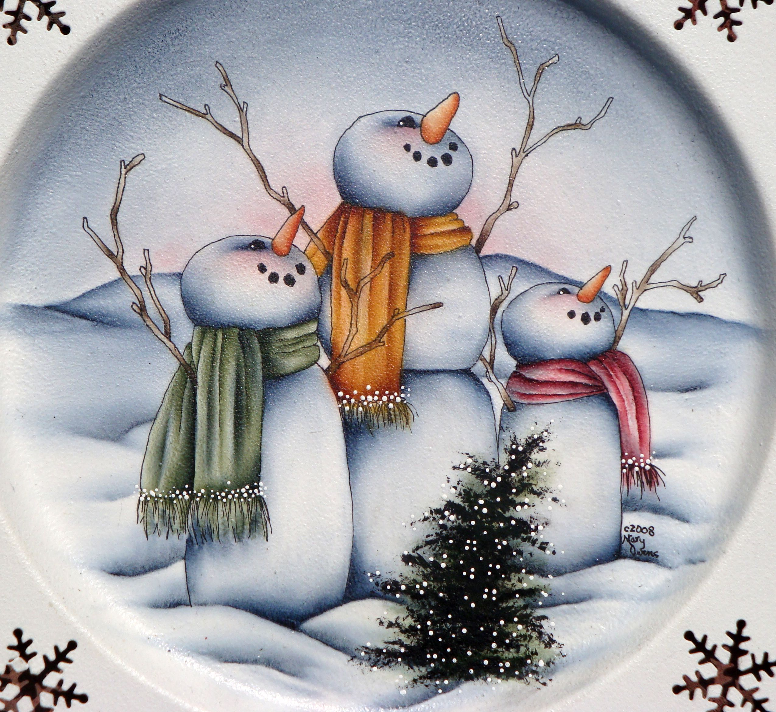 Картинки декупаж снеговик оригинальный способ