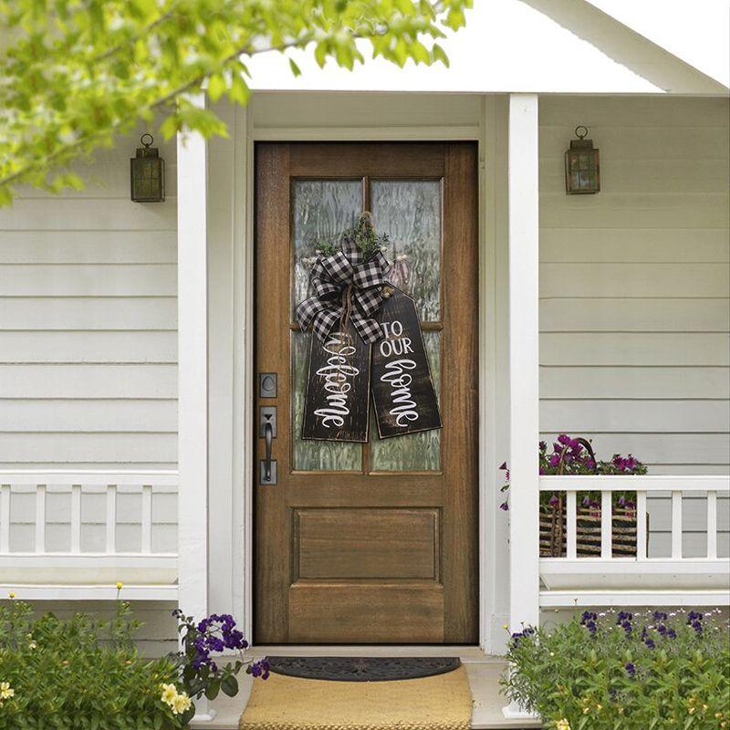 Welcome To Our Home Door Hanger P5290316161