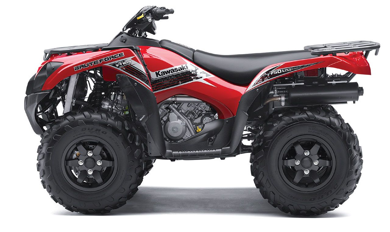 Kawasaki Has Present New Atv Vehicle Brute Force 750 For 2013 Year