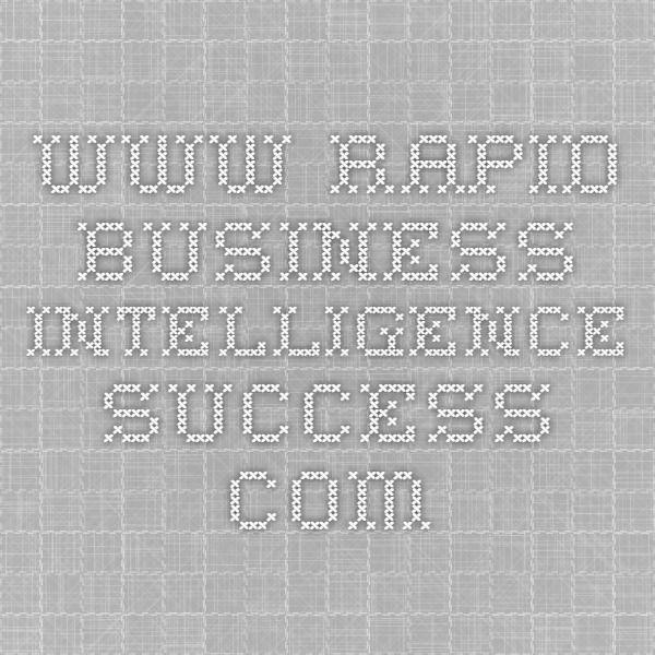 wwwrapid-business-intelligence-success RESUME WRITING - business intelligence resume