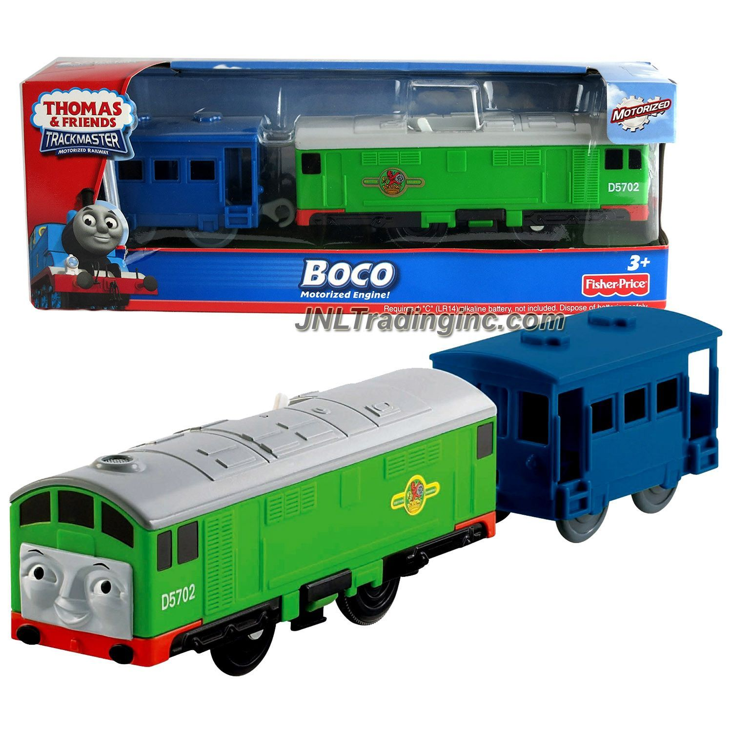 Thomas and Friends Trackmaster Motorized Railway 2 Pack Train Set ...