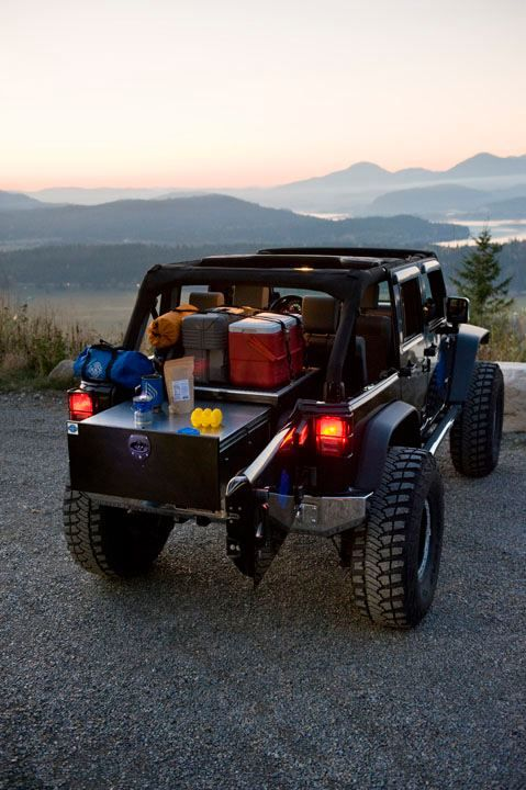 For All You Wrangler Owners Have You Seen The Mac S Black Box Jeep Jeep Wrangler Jeep Camping