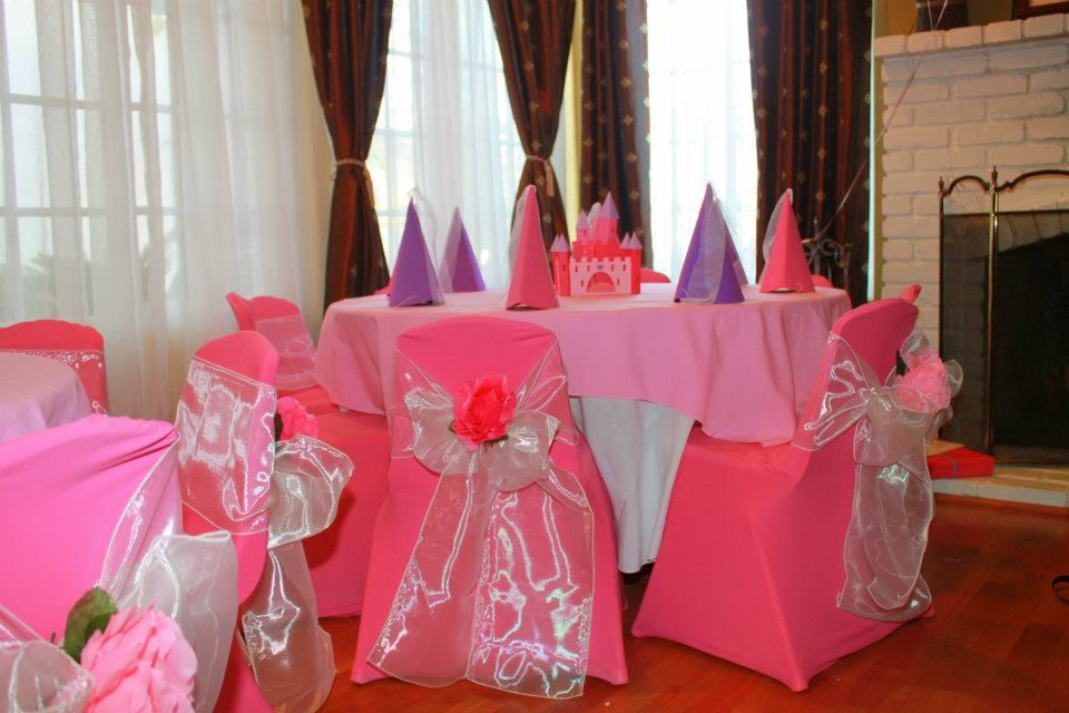 princess party ideas princess kids sized tables and chairs