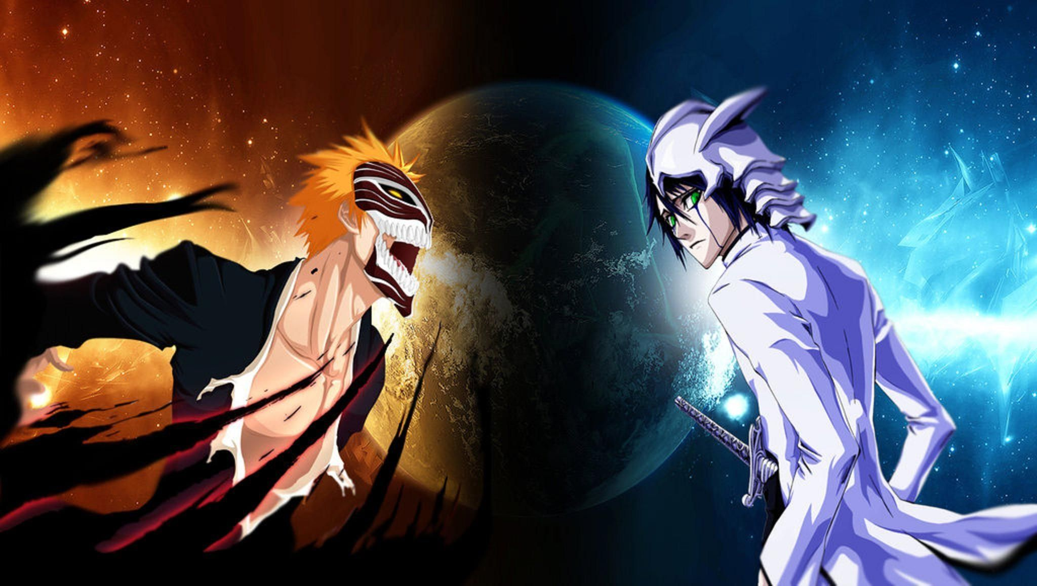 2048x1158 bleach computer wallpaper backgrounds Anime, Vs.