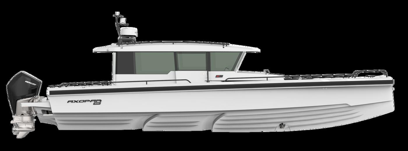 Axopar 37 Cabin Axopar Boats Cabin Led Deck Lighting Boat Design